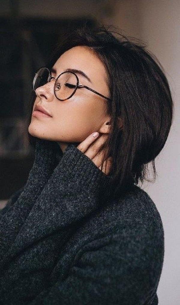 Top 10 gọng kính cận nữ tròn